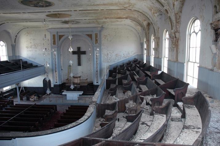 Emanuel Lutheran Church, Choir QVNA, 2009. Photograph by Al Dorof.