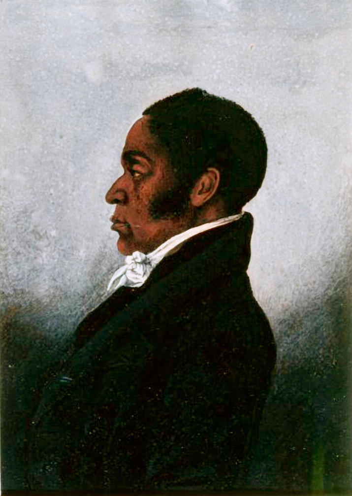 Portrait of James Forten by unknown artist